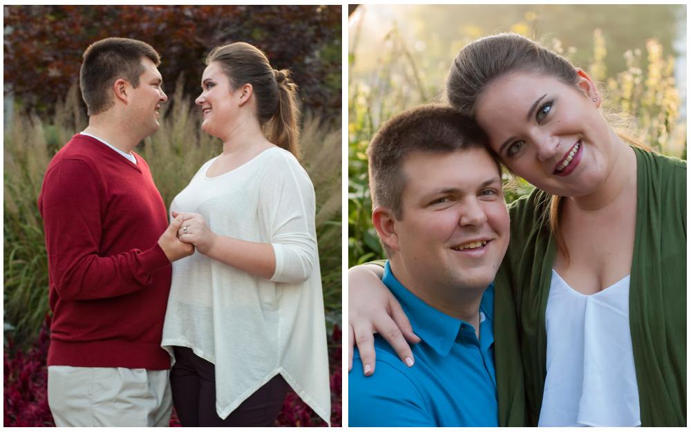 engagement session Bowen Park Waukegan