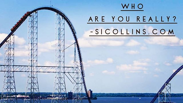 New blog post. Who Are We Really? Go to sicollins.com