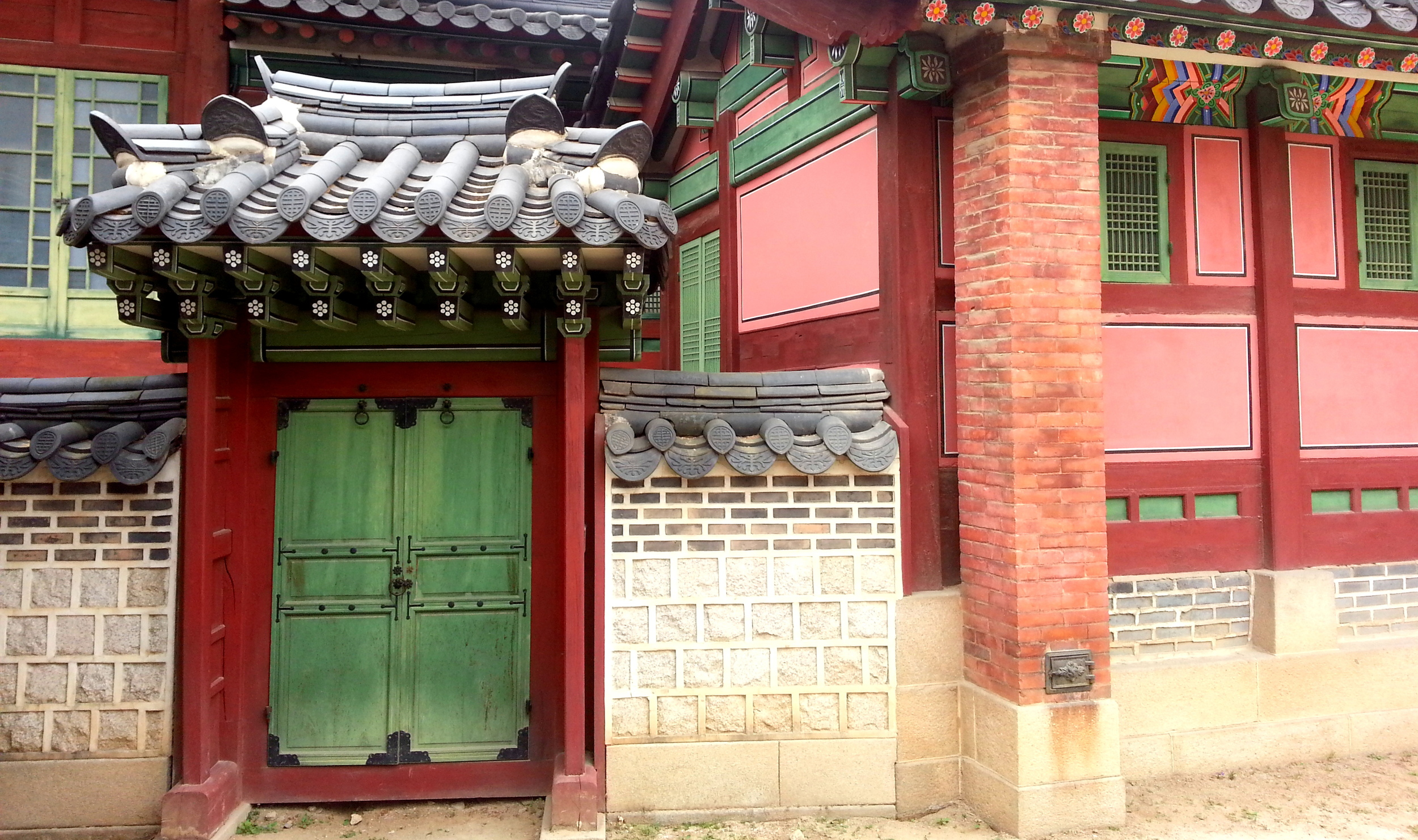 Queen's Palace in Seoul, Korea