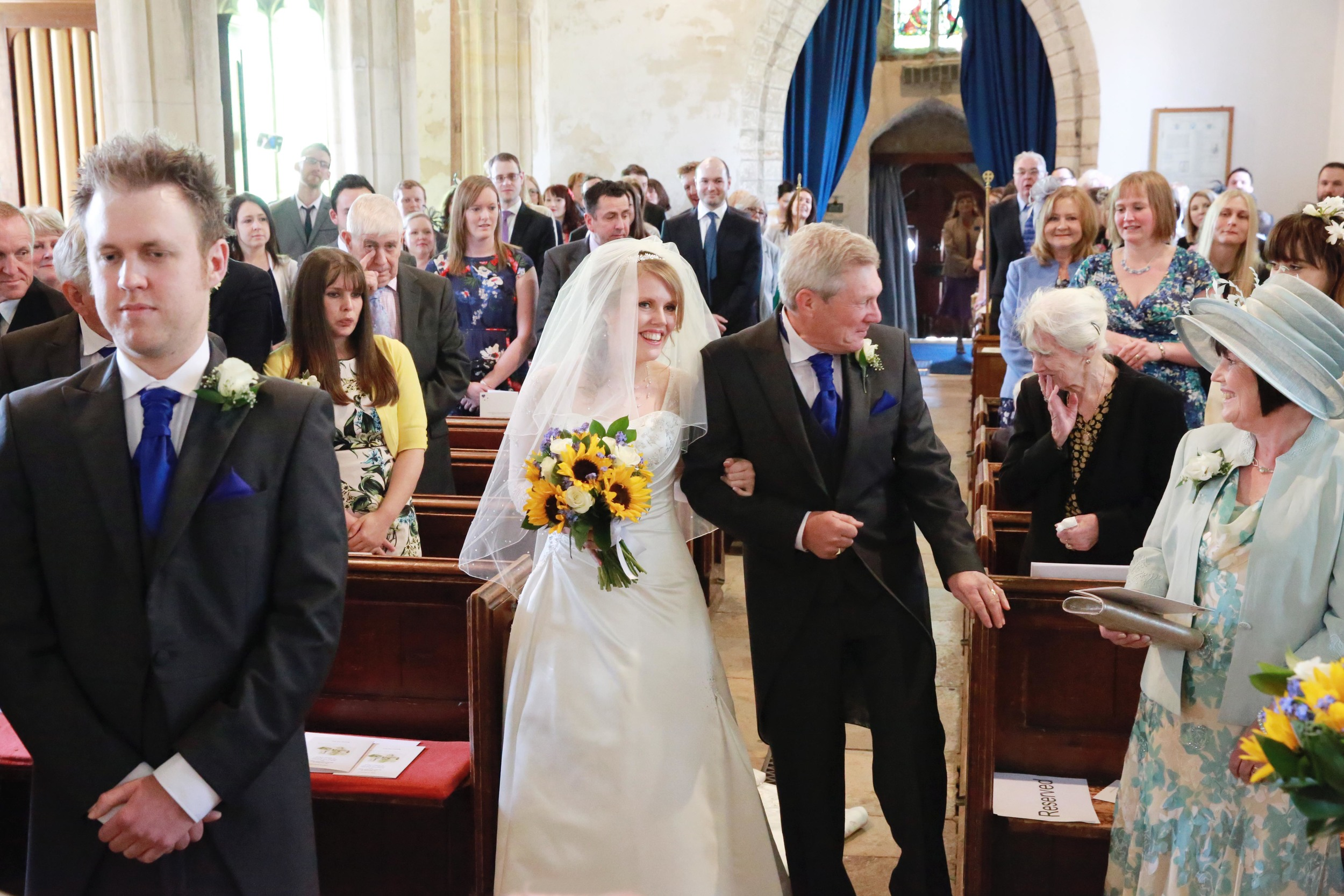 Rachael McGowan wedding day church.jpg