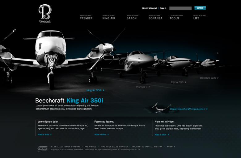 Beechcraft final site