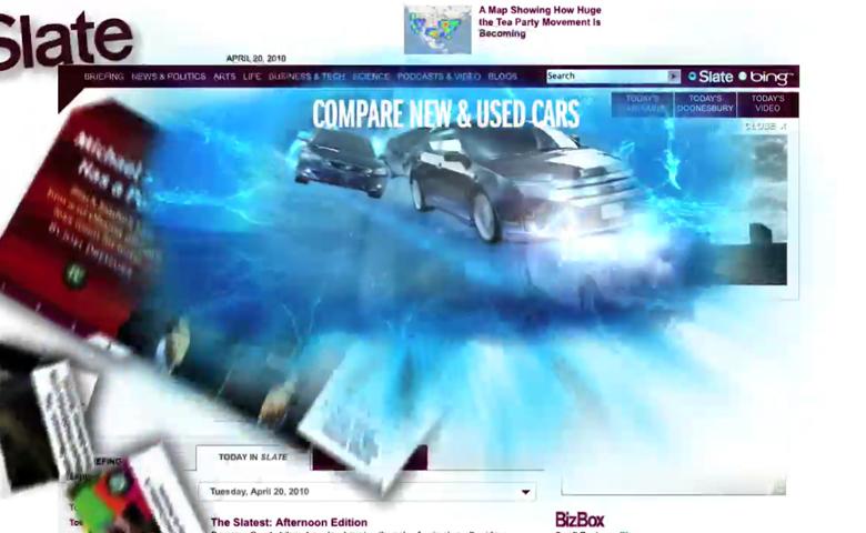 Slate.com – homepage takeover