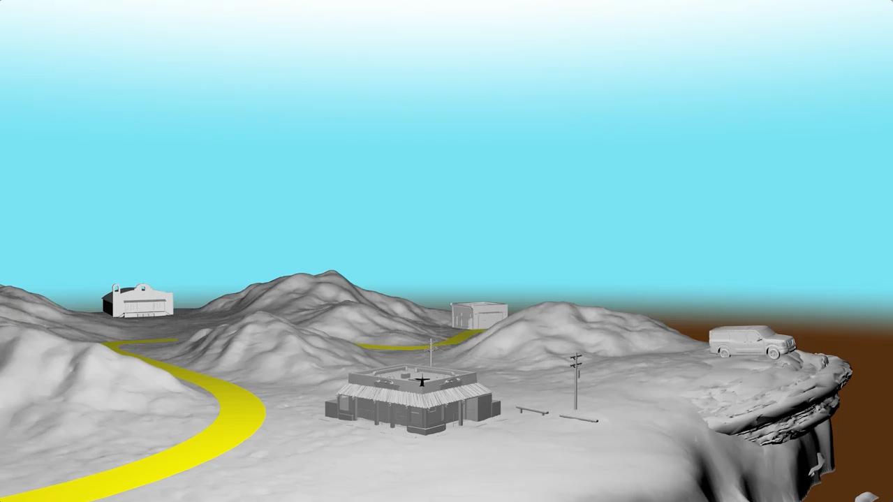 2. First 3D render