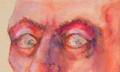 deathbed self-portrait 001