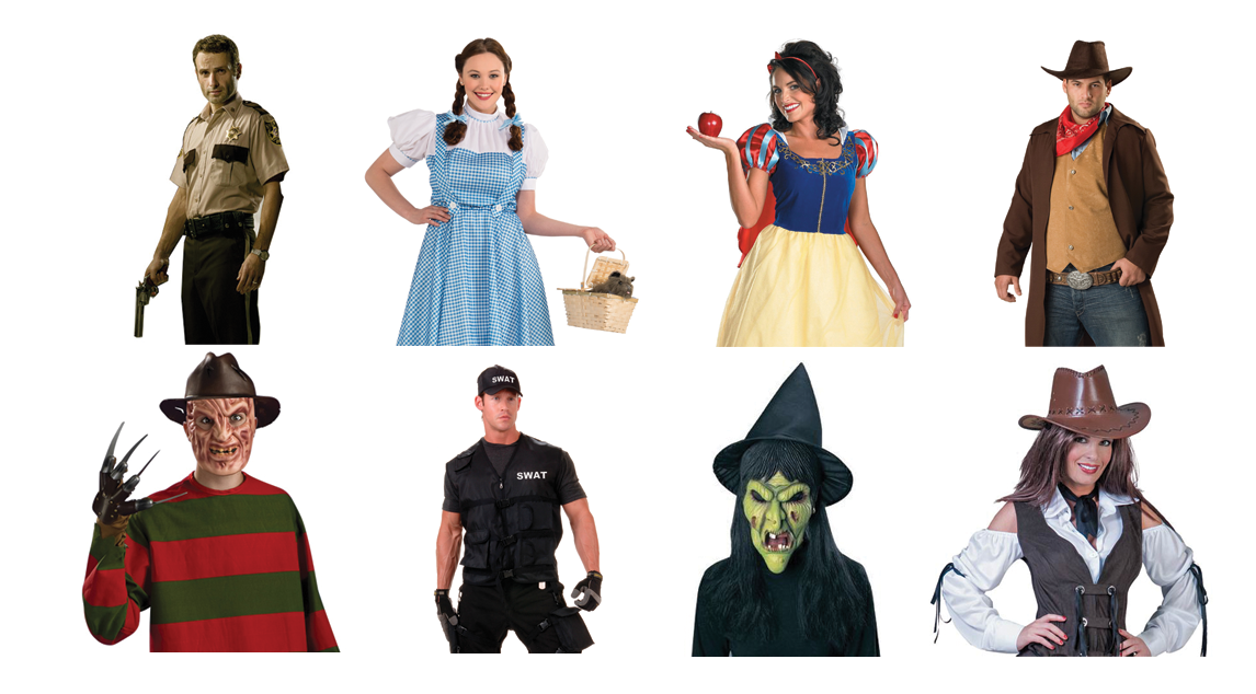 Hollywood-Style Costumes