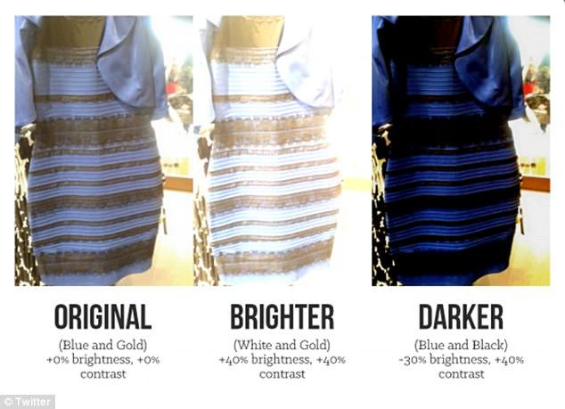 """1-2 sene önce milleti birbirine düşürmüş olan """"the dress"""" fotoğrafı. Orjinalinin mavi mi, altın-beyaz mı olduğu tartışması alıp başını gitmişti."""