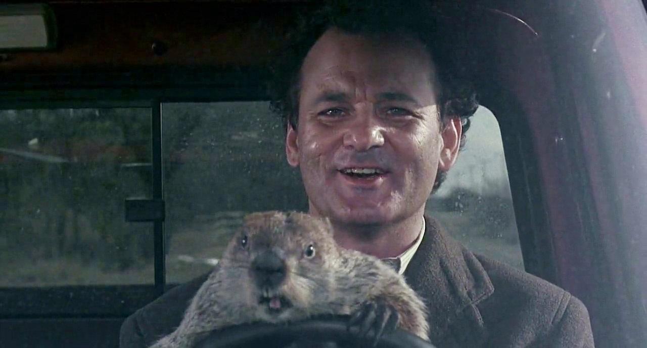 Bir 90'lar klasiği olan Groundhog Day 'de,aynı gün tekrar tekrar yaşanıyordu