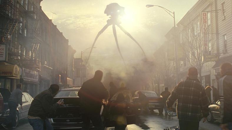 War of the Worlds, 2005, birazdan ölecek bir sürü hıyar.
