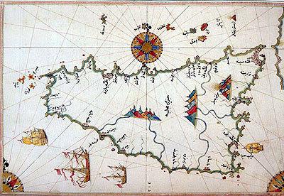 Piri Reis'in Sicilya haritası