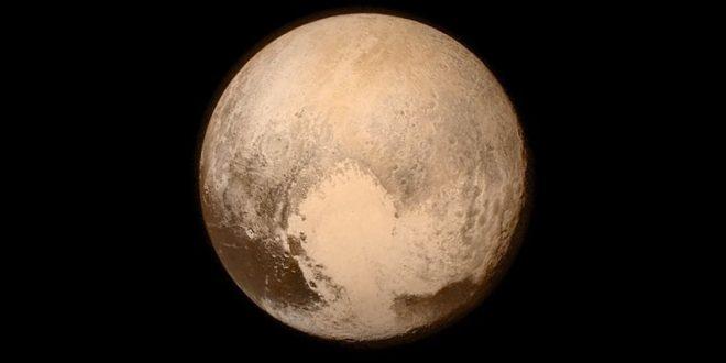 Bu da New Horizons'ın yakından çekip medyaya servis ettiği yüksek çözünürlüklü ahlaksızlık.