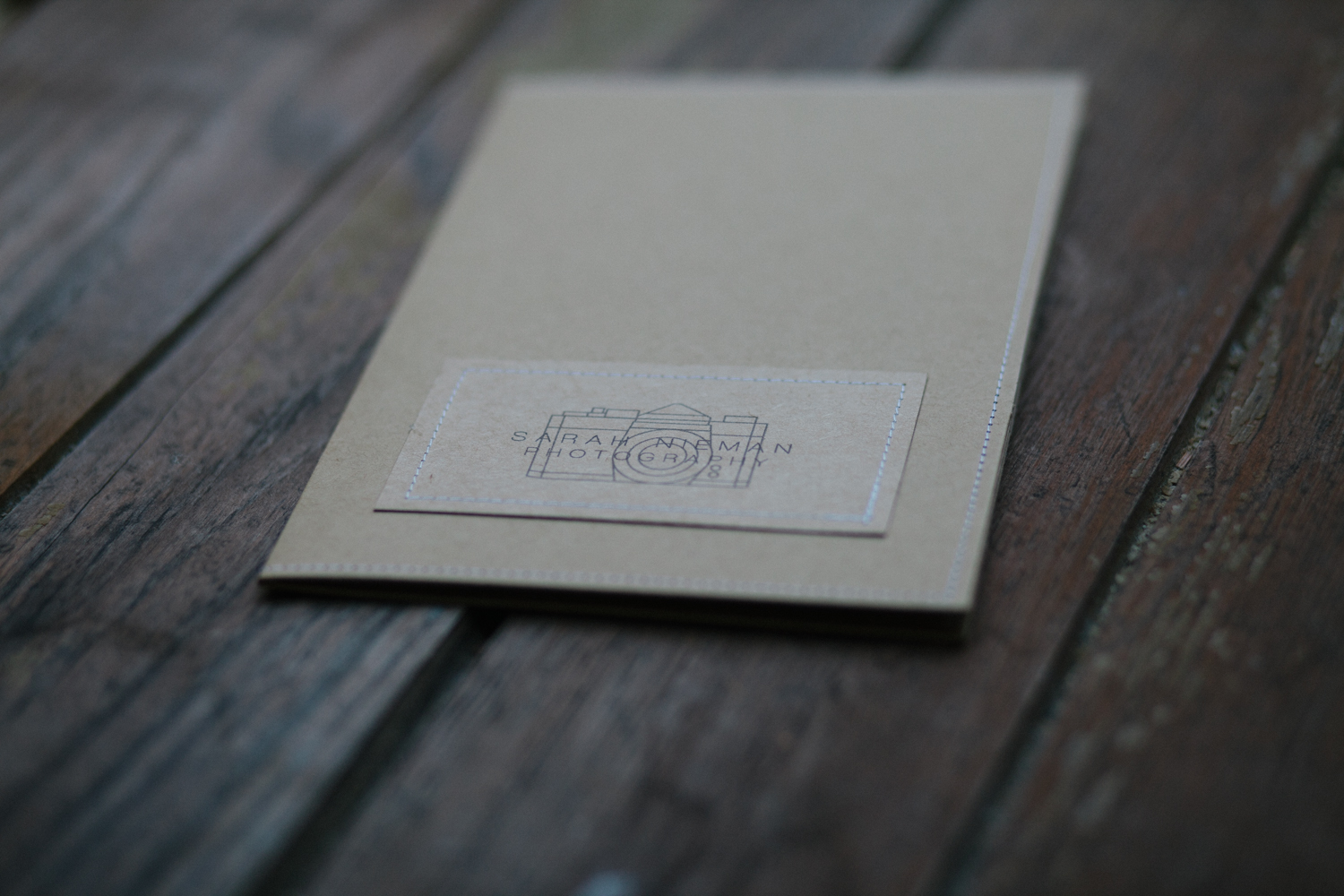 Custom folders to send to brides after they book with me! Inside I put the pocket info & beauty guide (pictured below), a business card, and a handwritten note thanking them.