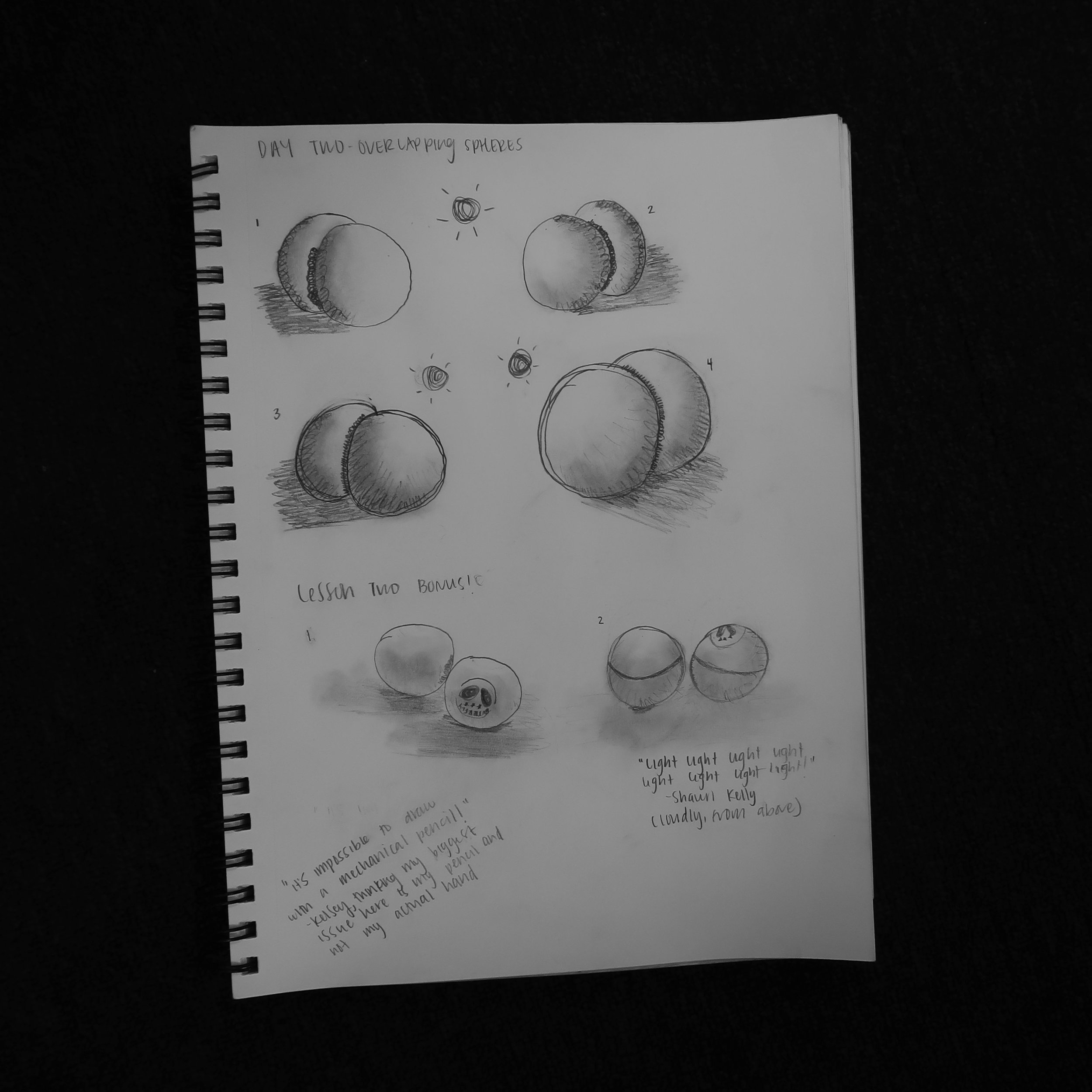 Butts! Lesson 2 was butts.