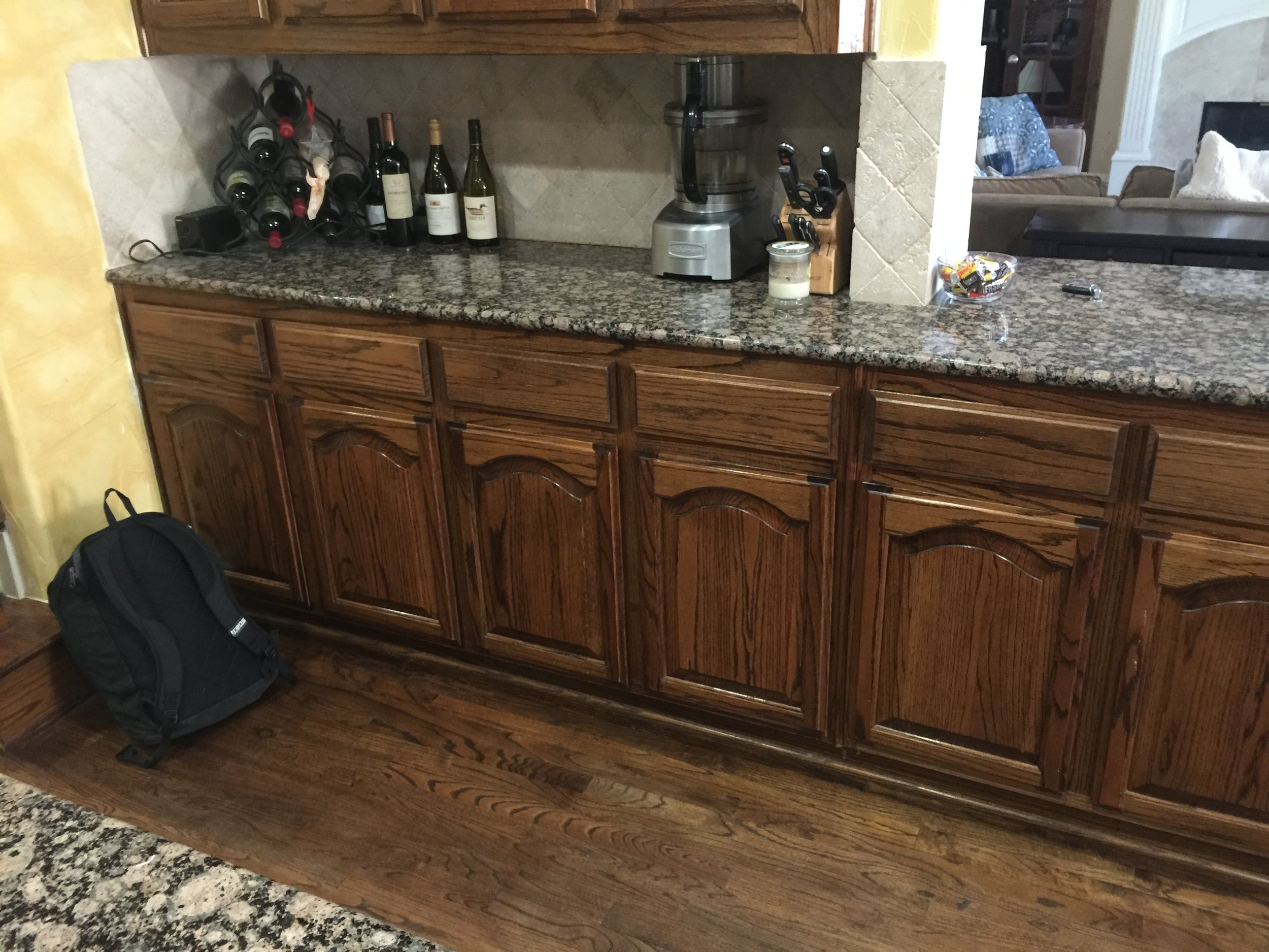 Kitchen Remodel Southlake TX - Before and After