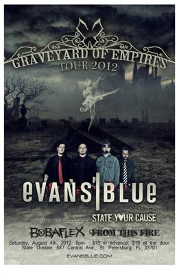Evans Blue State Flyer