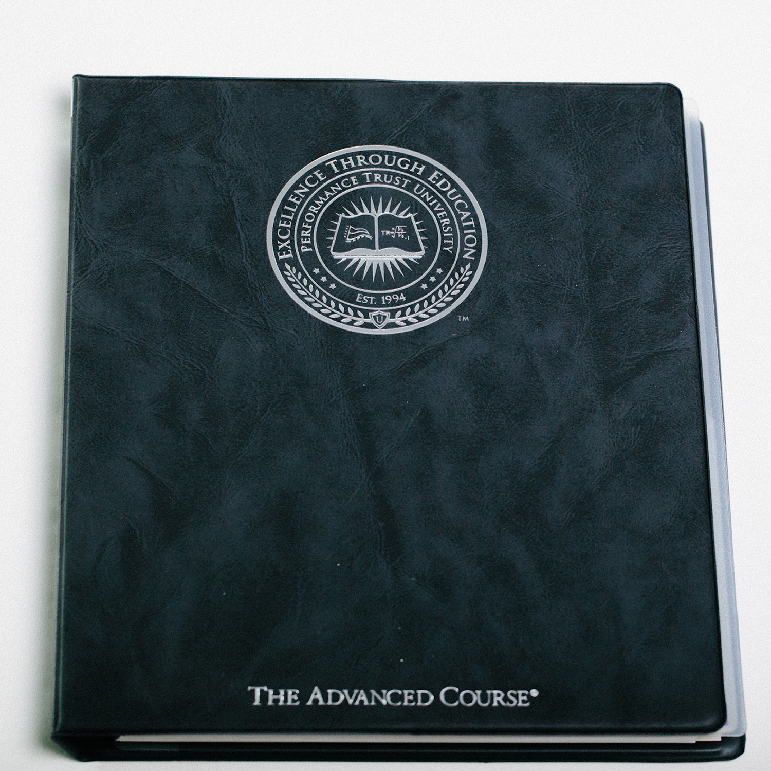 Performance Trust University Binder