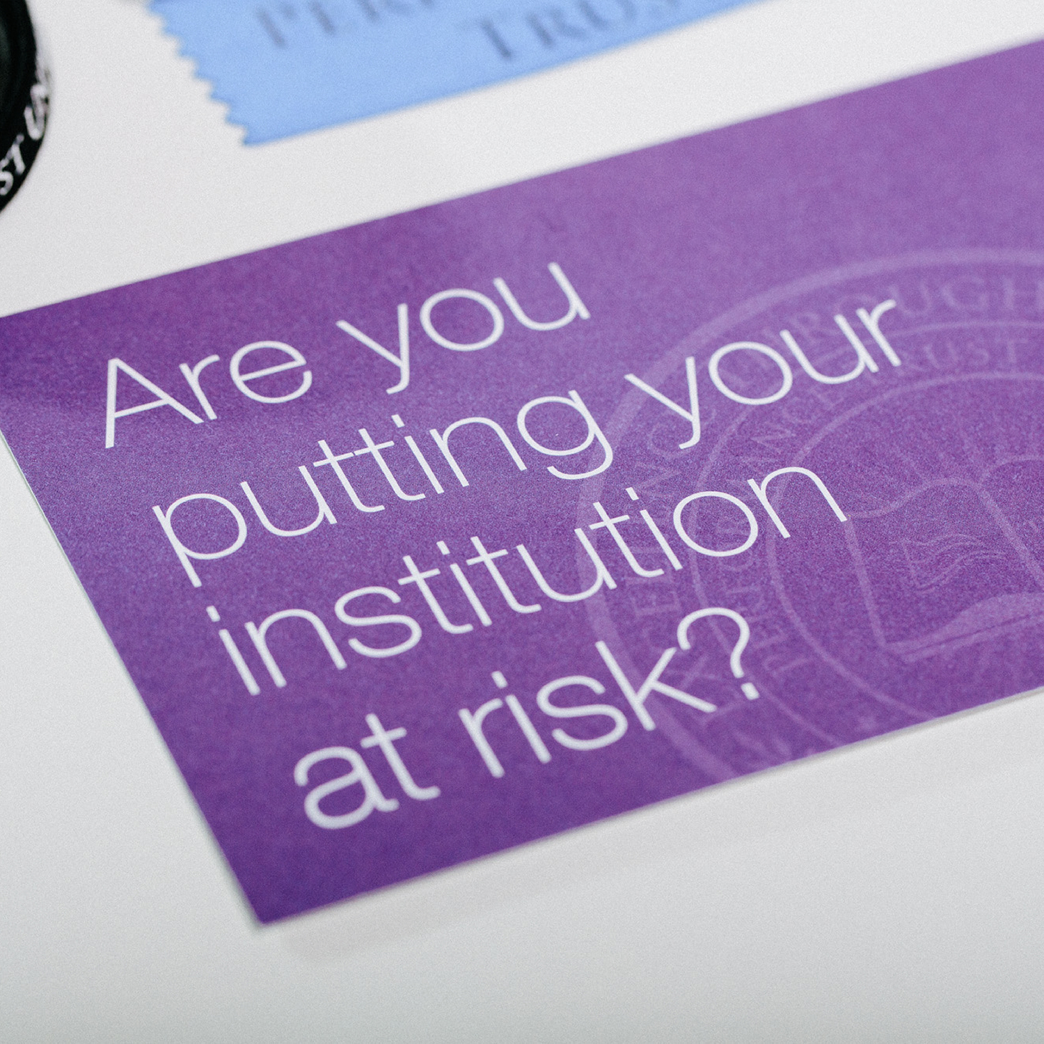 Performance Trust University Postcard