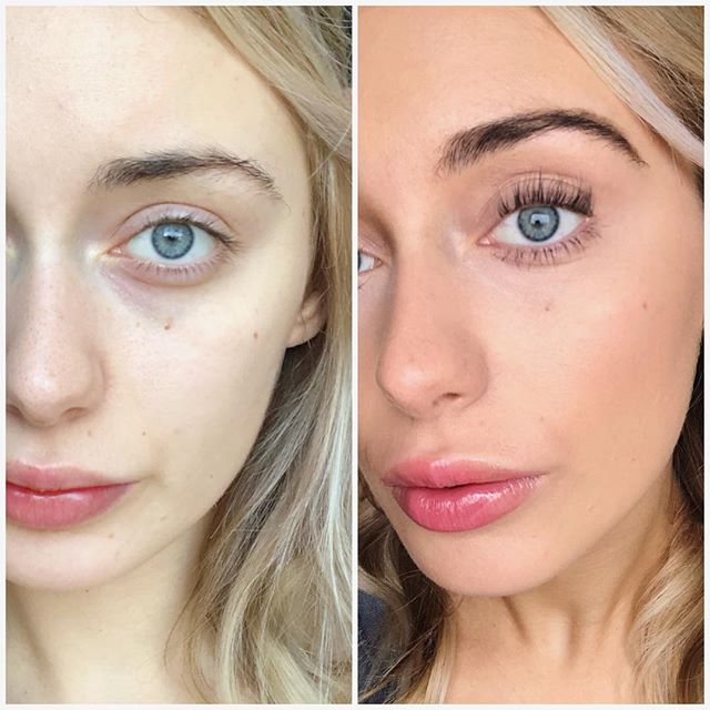 Feeling the winter blues? Stop in and see how much better you can feel in just an hour! We preformed a brow tint, organic spray tan, and lash lift on @angelinatorchia. There is no editing or filter on these photos. #organicspraytan #lashlift #eyelashperm #browtint #instanthappiness #seasonalaffectivedisorder #beautybar #beforeandafter
