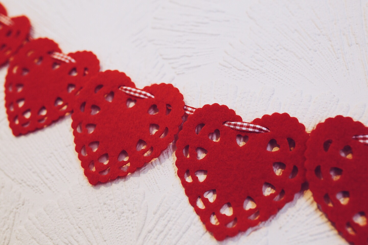 Heart decorations (this are from Penneys)