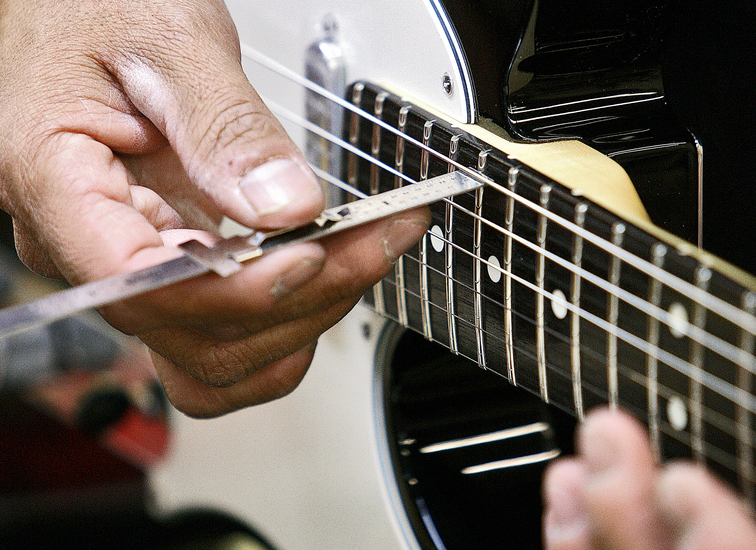 Let us make sure your guitar is in top playing condition. A setup guitar is easier to play and much more enjoyable!