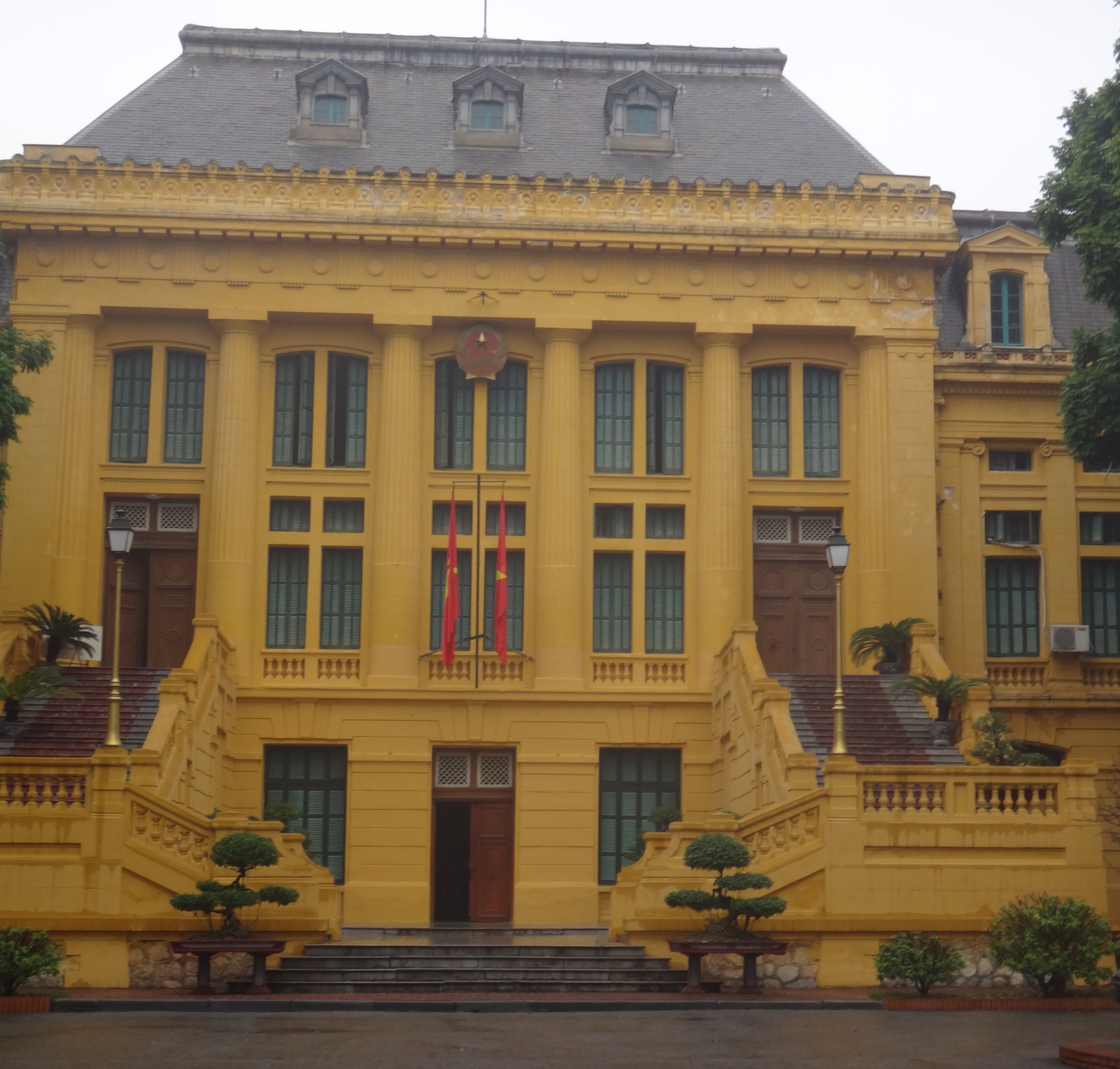 Supreme Court -- built by the French in colonial times .. many Vietnamese political prisoners went from here to the prison across the street.
