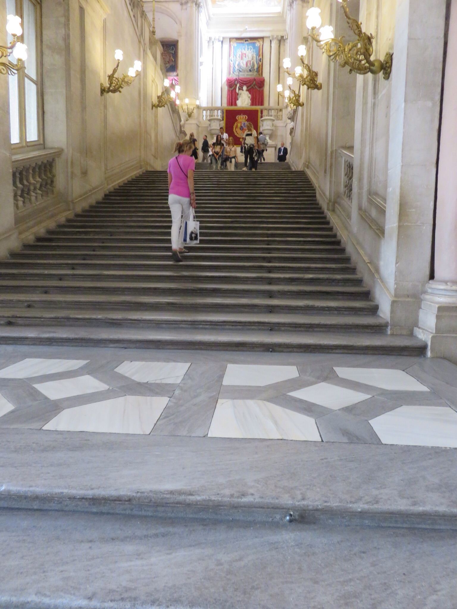 Grand stairs of the Palace lobby