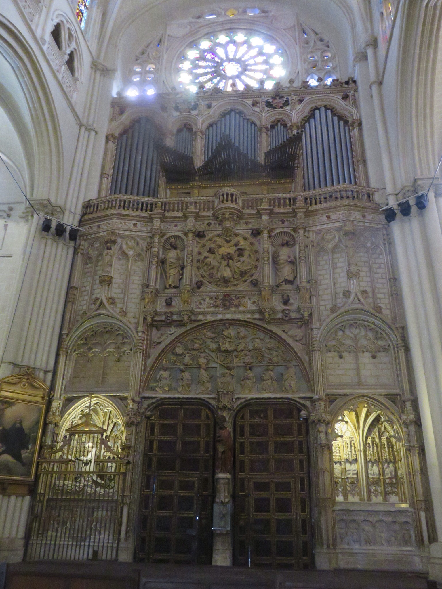 One of many pipe organs