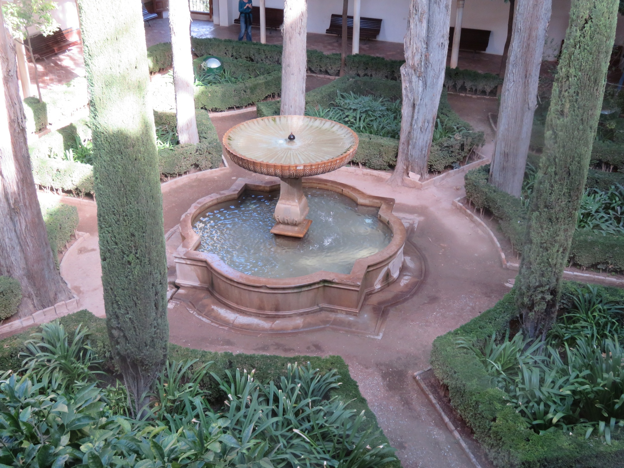 Fountains provided humidity and coolness during hot summers