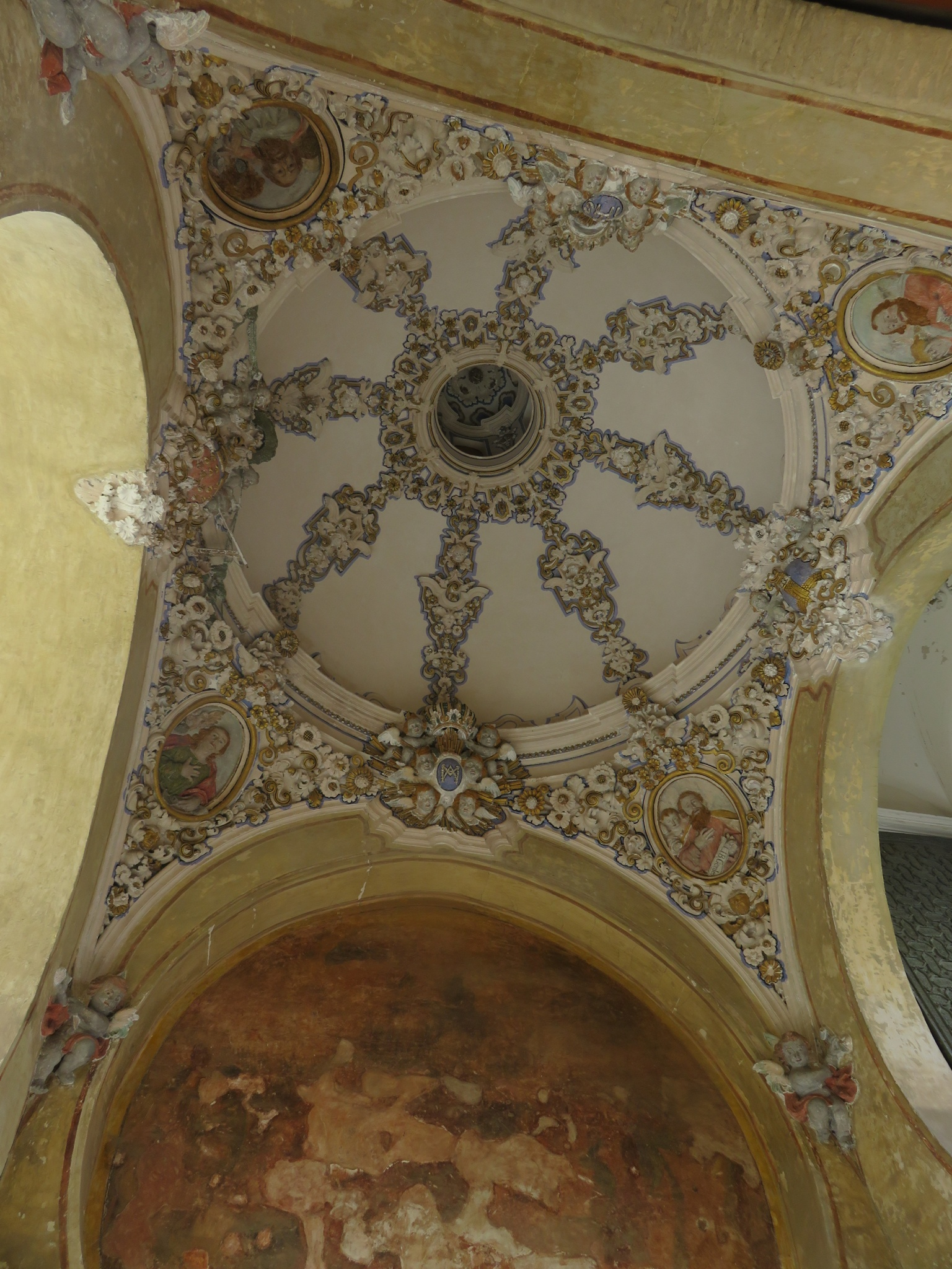 Ceiling of the gateway entrance
