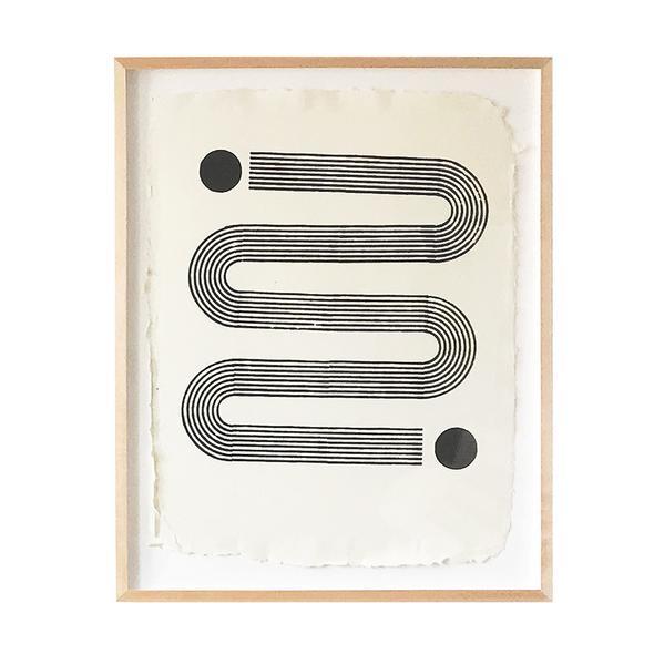 Block Shop Textiles: $600 (framed) 40x31.3