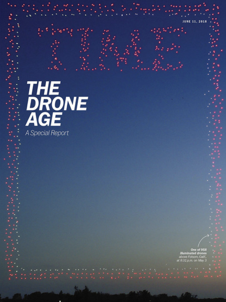 We brought our heavy lift drone to Time for their drone issue THE DRONE AGE!