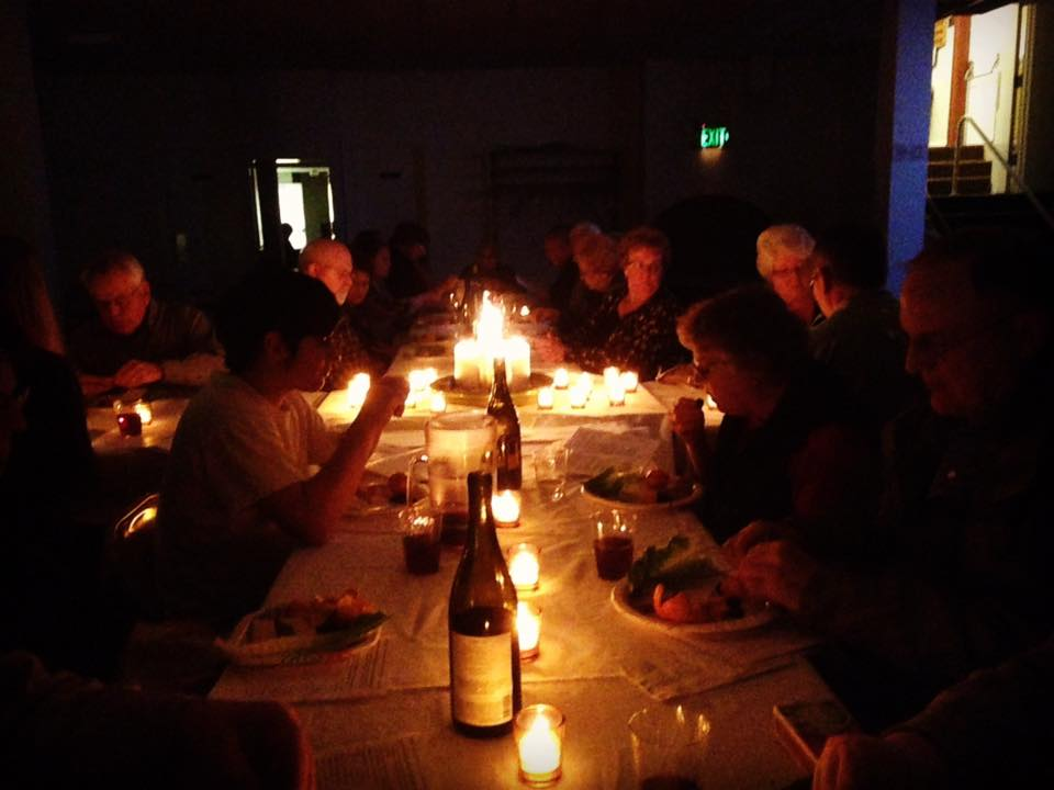 Meal in the Upper Room - Maunday Thursday