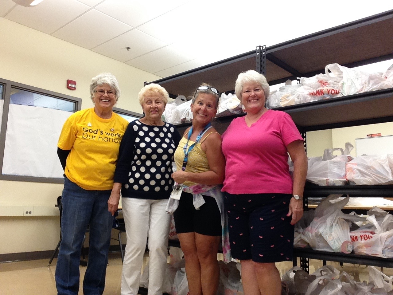 Pioneer Pantry and God's Work Our Hands 2016
