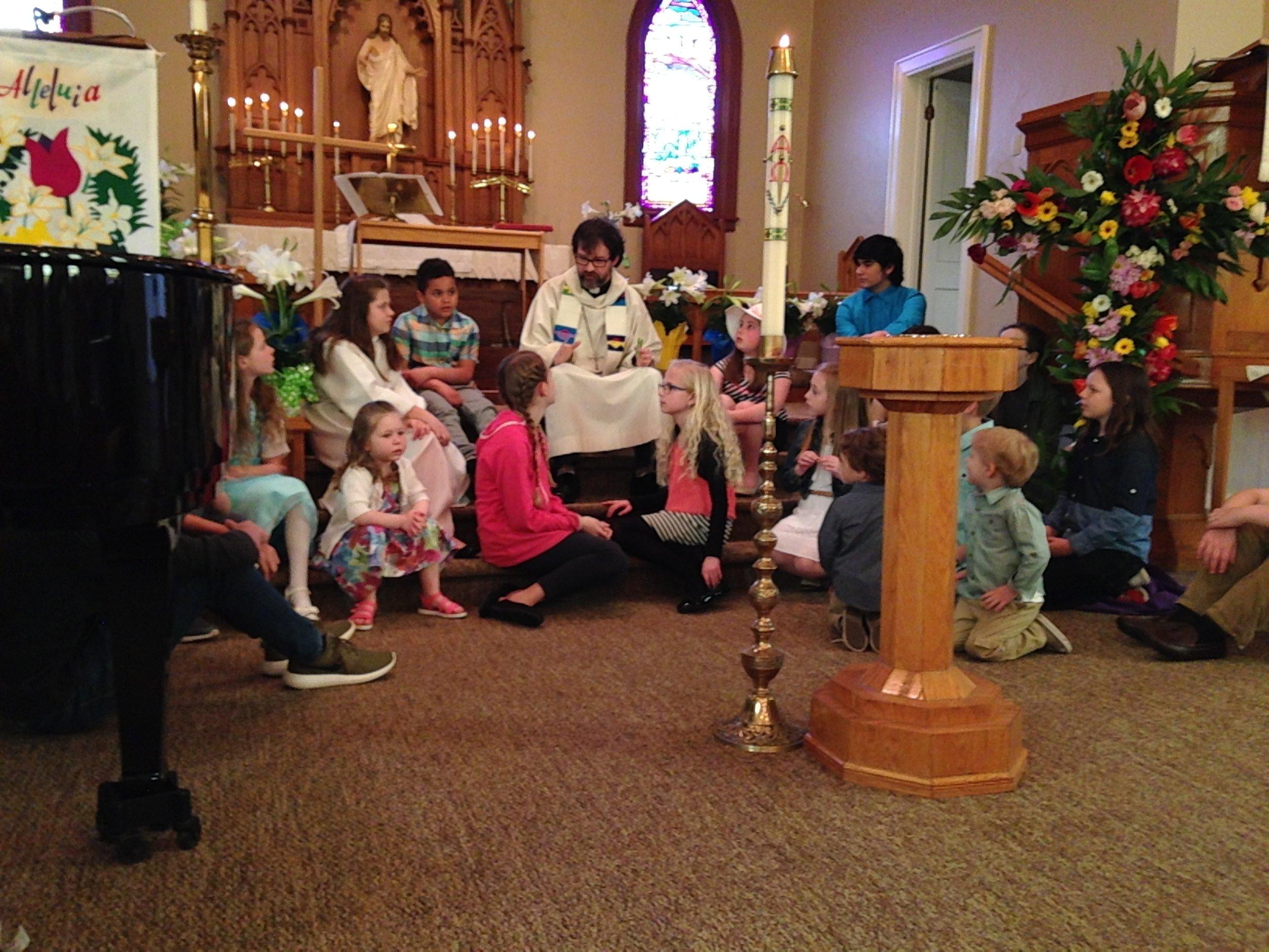 Children's Chat, Easter Sunday