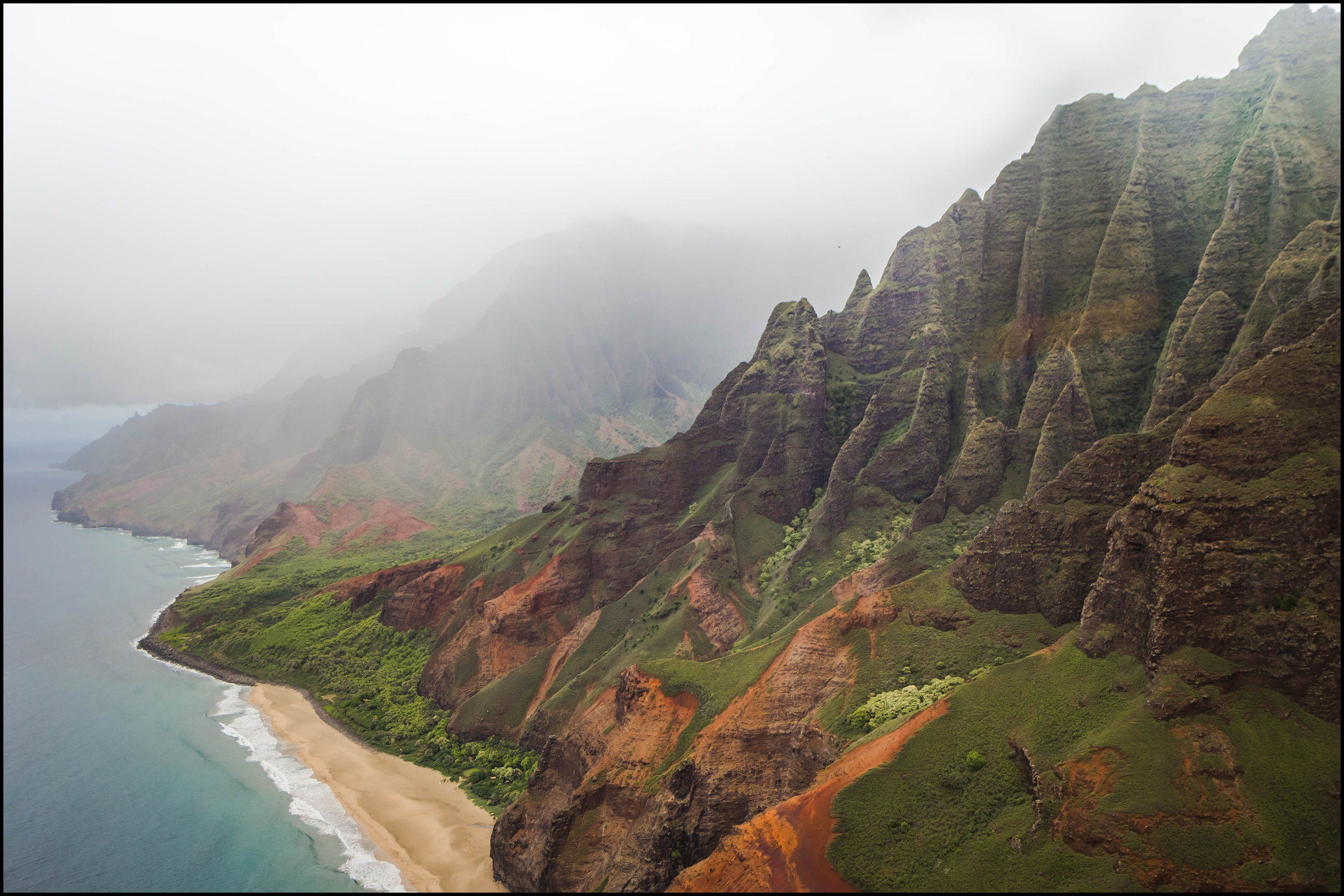 The Kalalau Trail, Napali Coast, Kaua'i