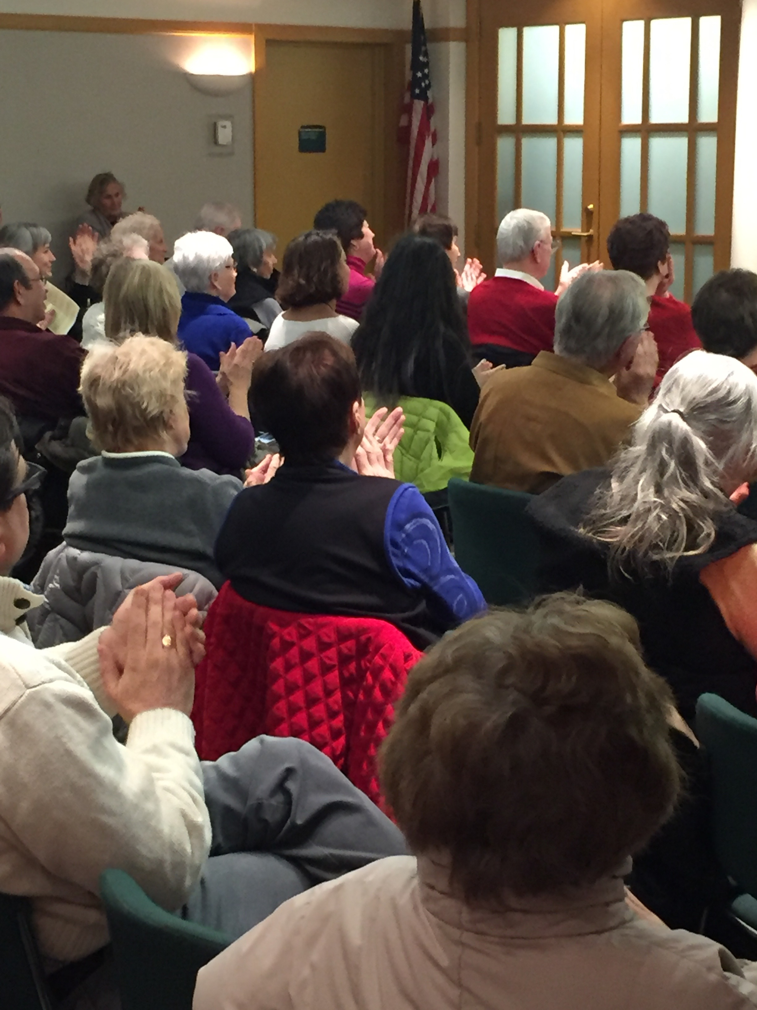 The crowd at 'Piano Recital by Ethan Valentin'