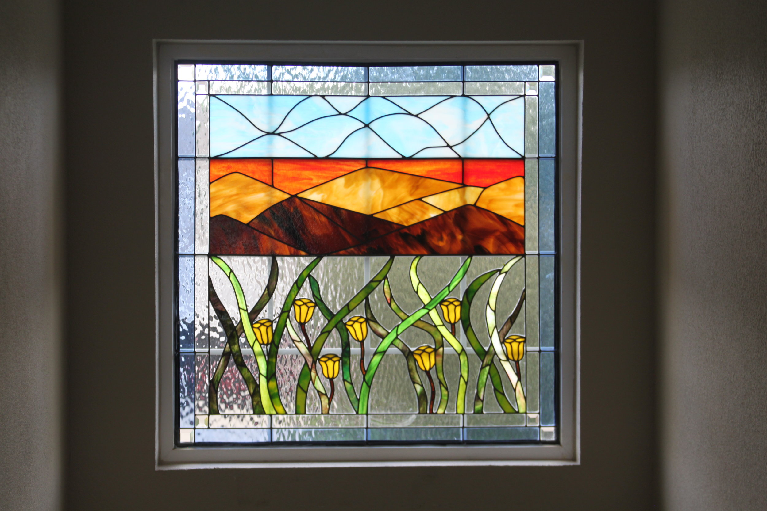 Denver Stained Glass Colorful Colorado