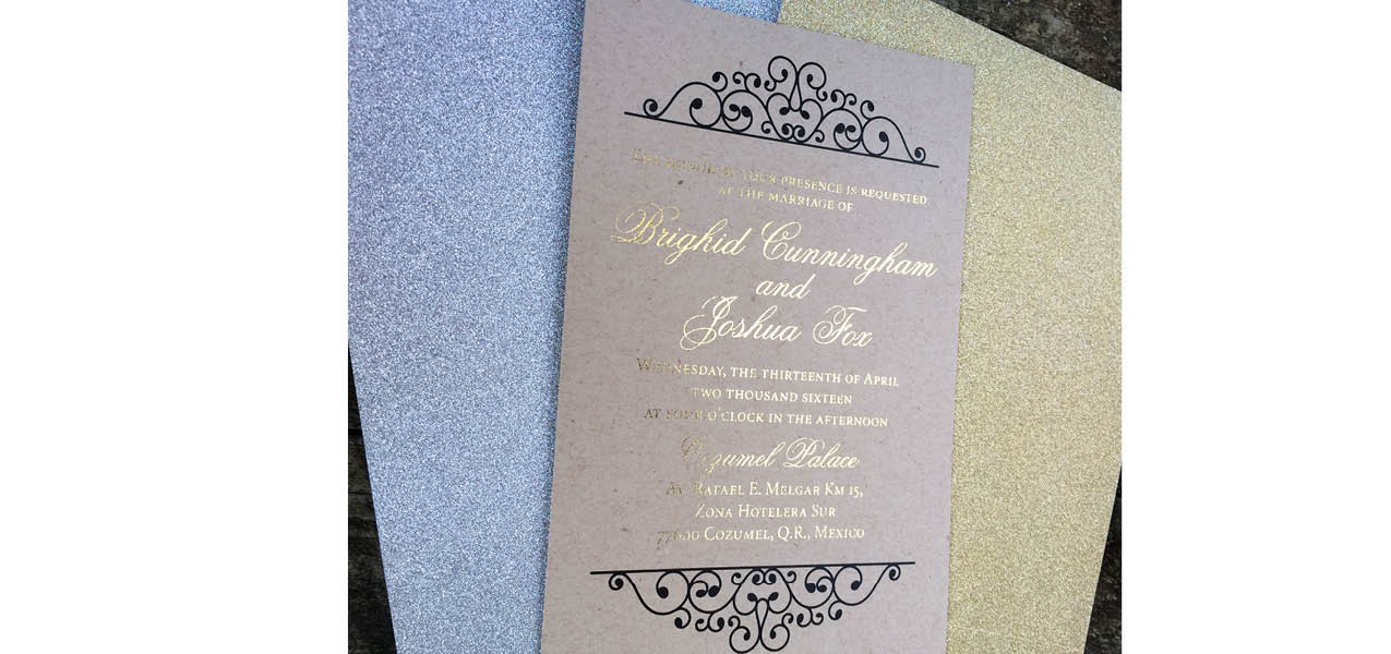 Specialty Layered Invitation