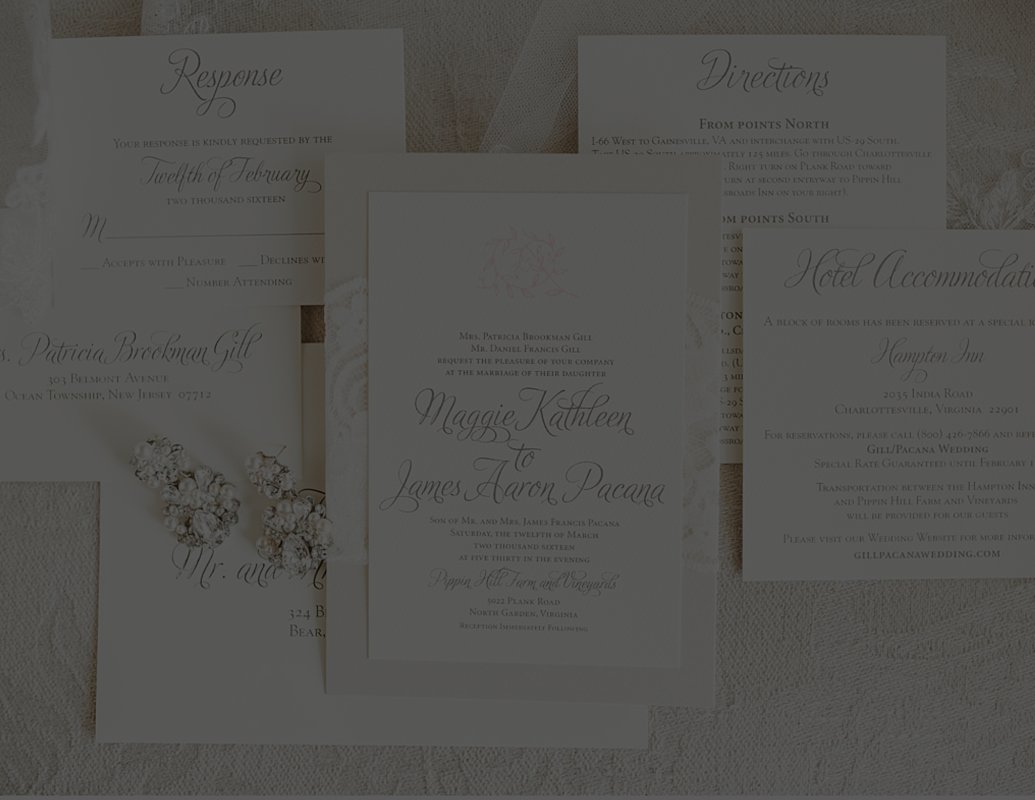 WEDDING INVITATION WORDING - TEMPLATES + DOWNLOAD