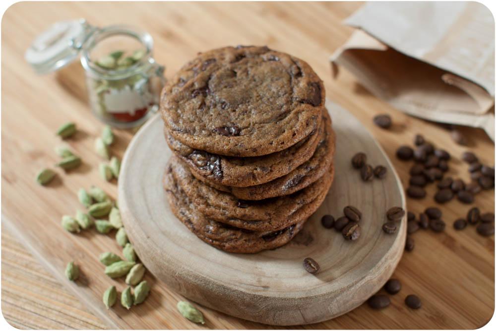 turkish coffee chocolate chip cookies