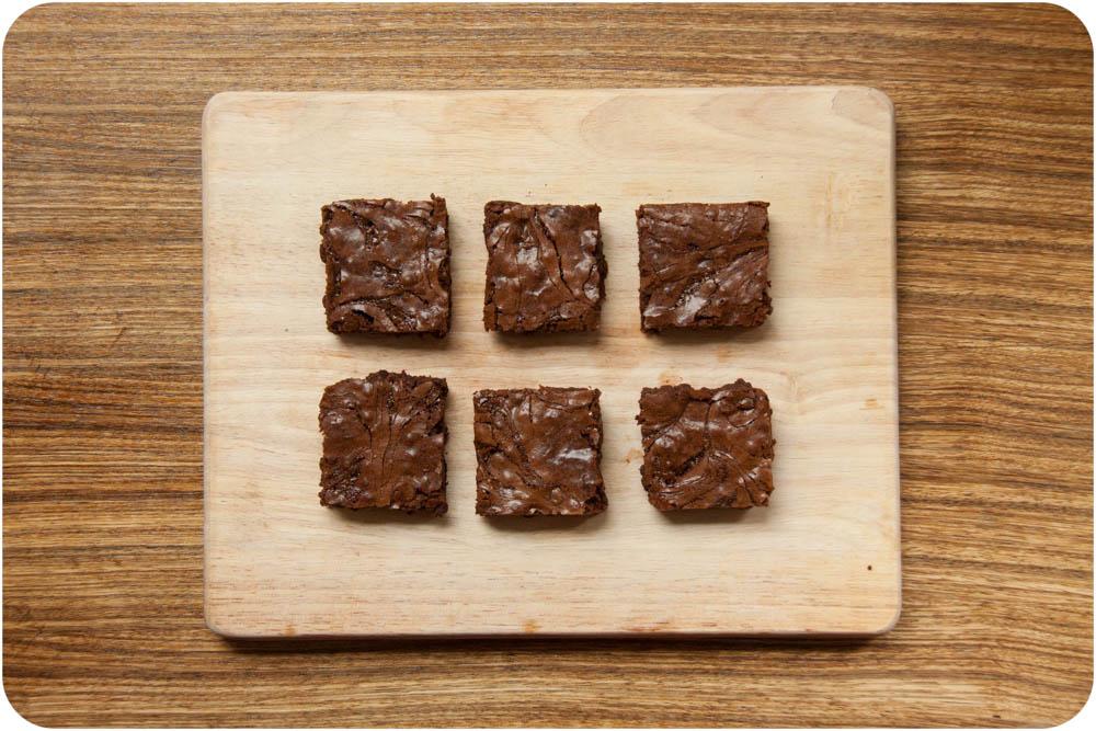salted caramel swirl brownies
