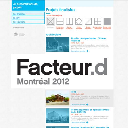 MISSION DESIGN 2012 - Facteur.d finaliste: Irène