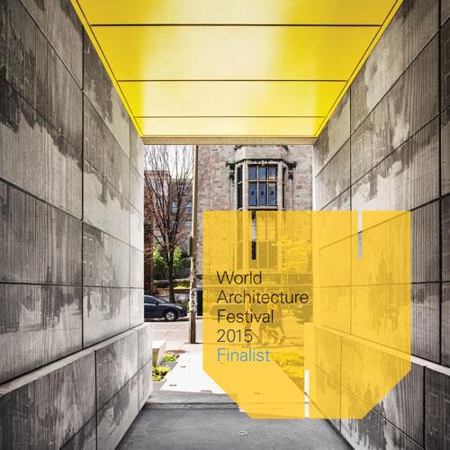 WORLD ARCHITECTURE FESTIVAL 2015 - Finaliste: Résidence Edison