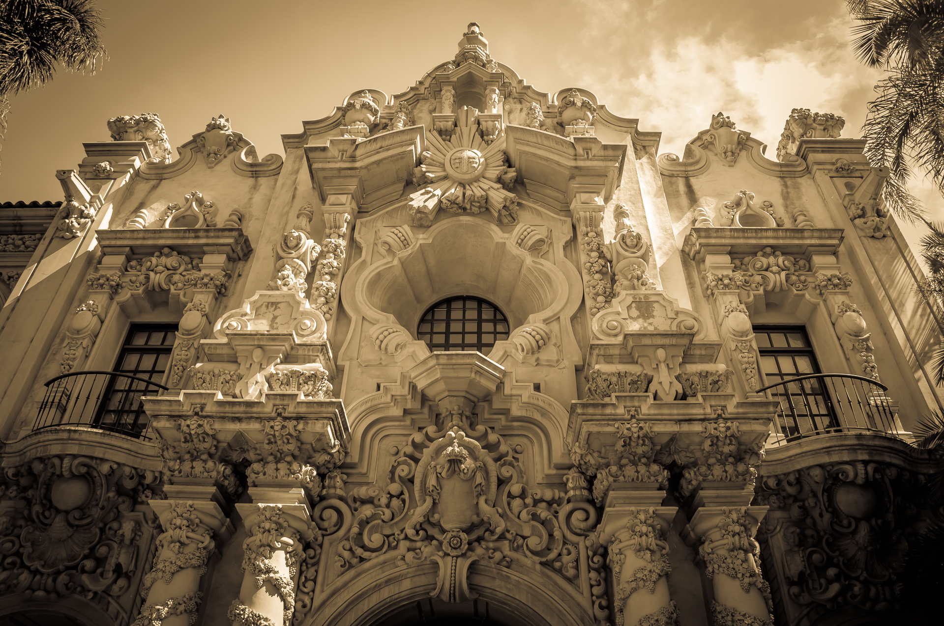 Arichitecture in Balboa Park