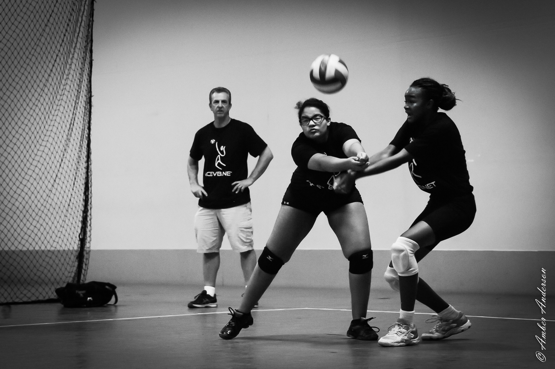 I DIG it!! Get it.  Daja Jackson takin' a hit at Aspire Volleyball Club in Phoenix, AZ.
