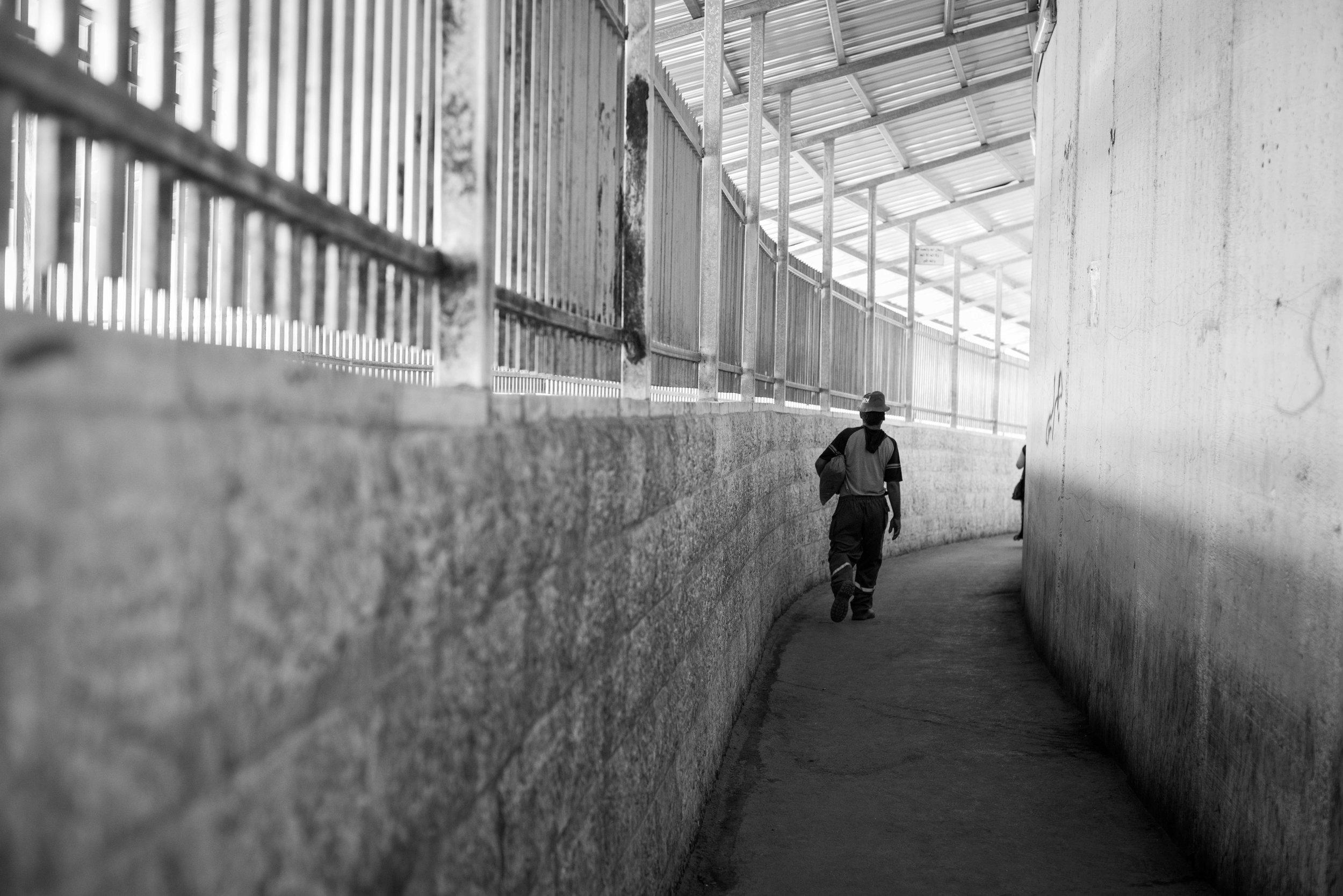 Checkpoint 300, from Jerusalem into Bethlehem, West Bank, Palestine