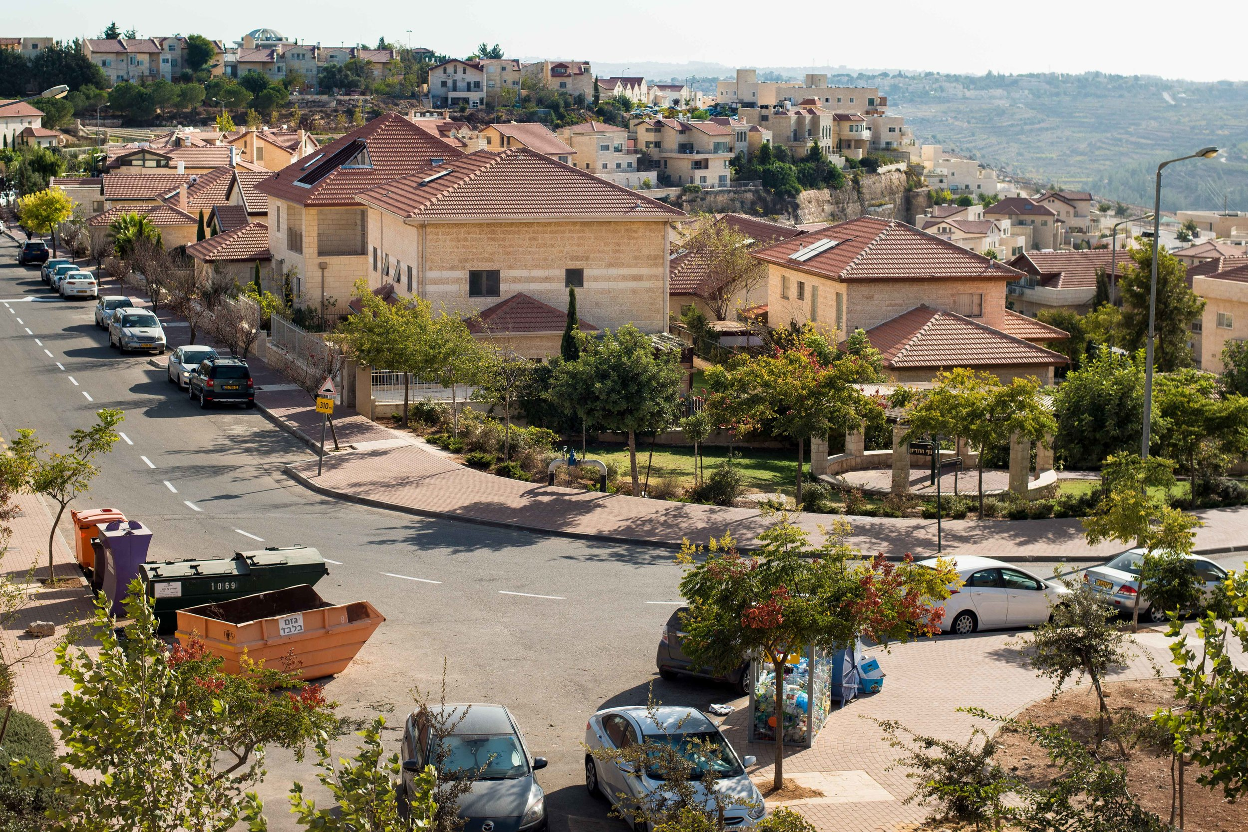 Settlement bloc in Gush Etzion, West Bank, Palestine