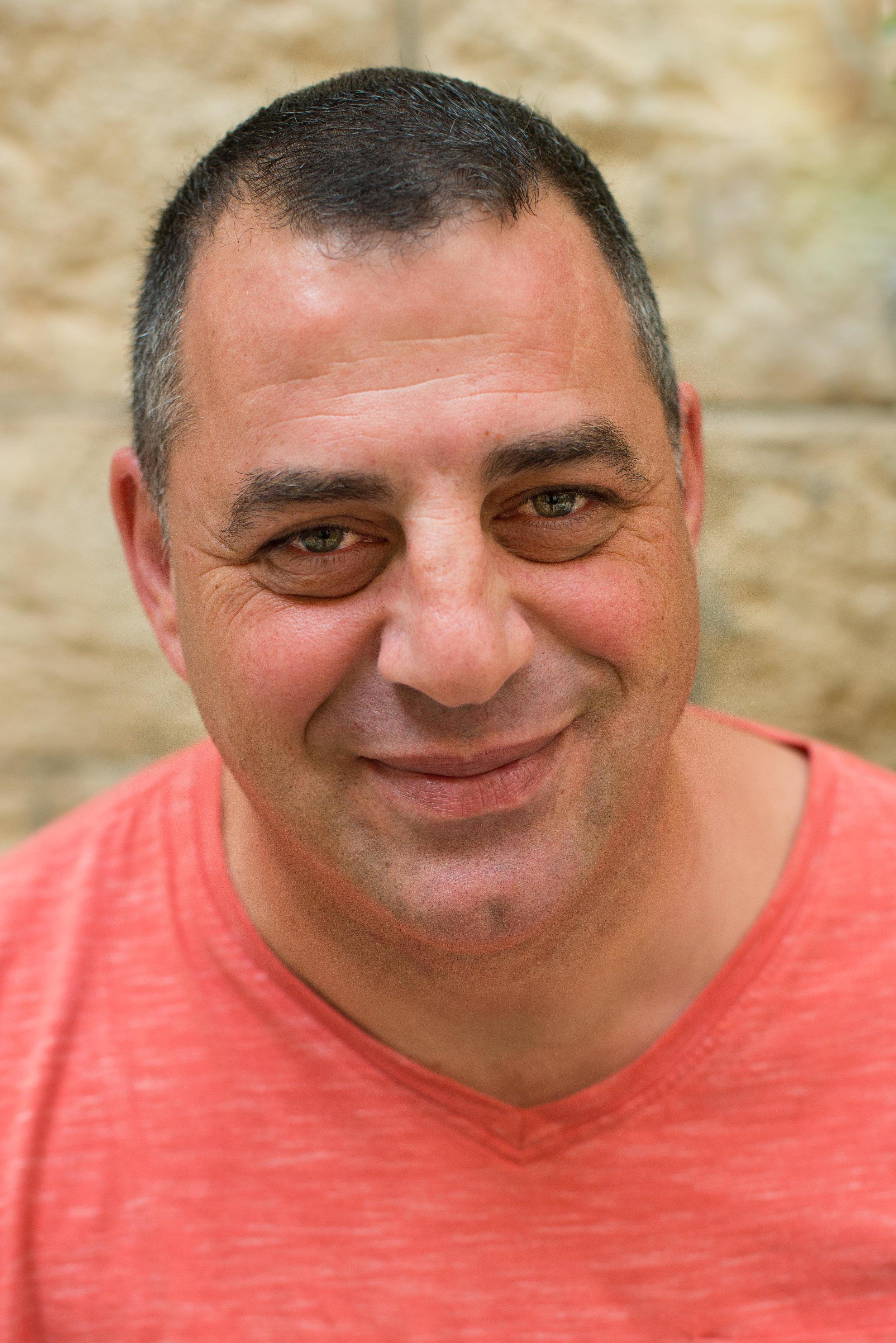 Mike, Casa Nova Guest House, Jerusalem