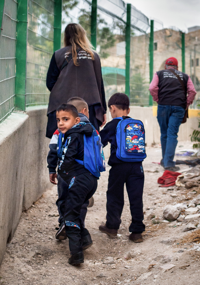 """The Walk To School""- Hebron, Palestine, 2016"