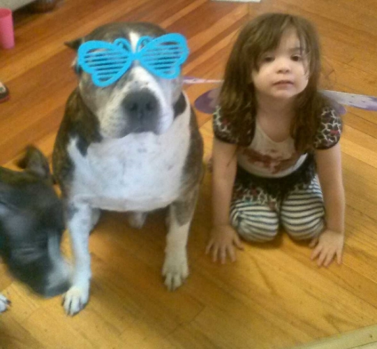 12 year old Lexington and his best friend playing dress up.