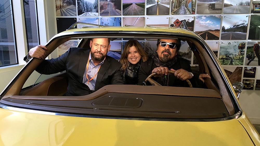 Global Causes Day Facebook Tom Maxwell George Lopez Car.jpg